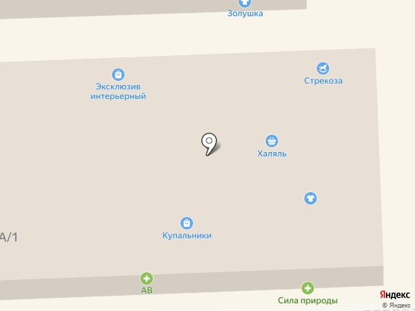 Шурик на карте Новороссийска