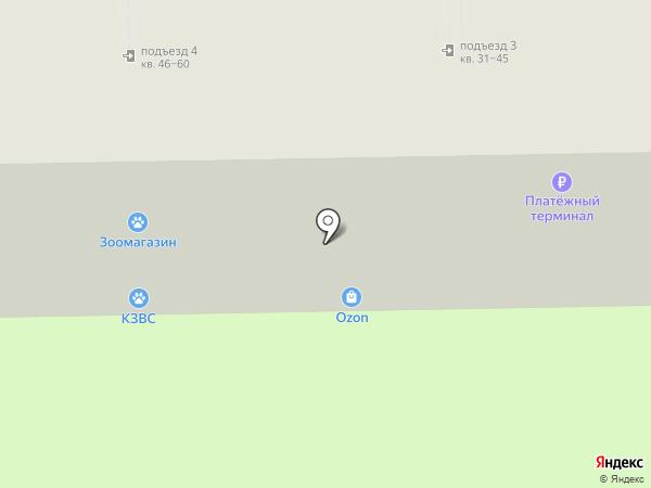 Силуэт на карте Новороссийска