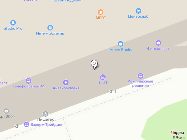 ГЕН-СЕРВИС на карте Москвы