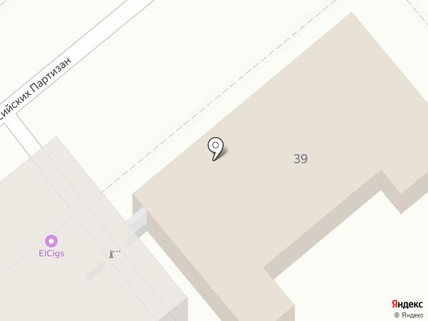 Военная комендатура Новороссийского гарнизона на карте Новороссийска