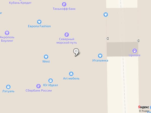 Контакт-AV на карте Новороссийска