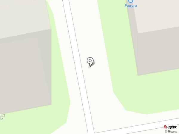 Платан, ТСЖ на карте Новороссийска