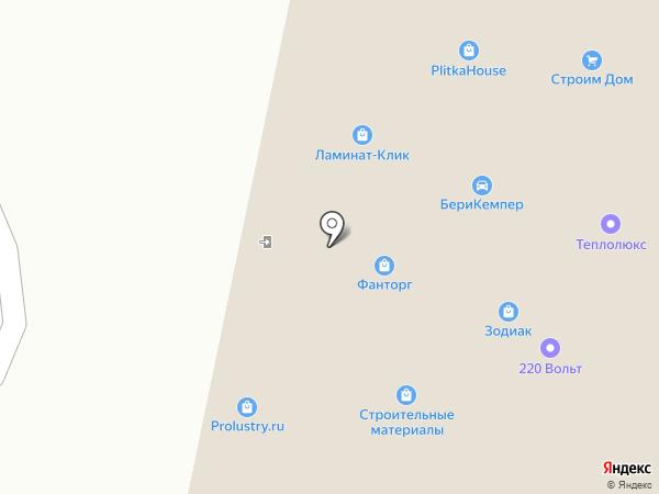 Стеклоком на карте Мытищ