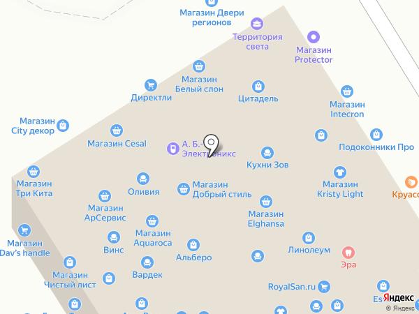 Акталия-К на карте Москвы