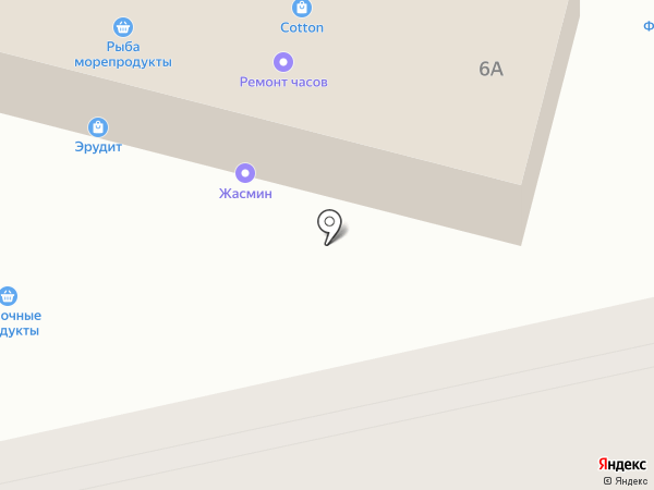 Магазин нижнего белья на карте Новороссийска