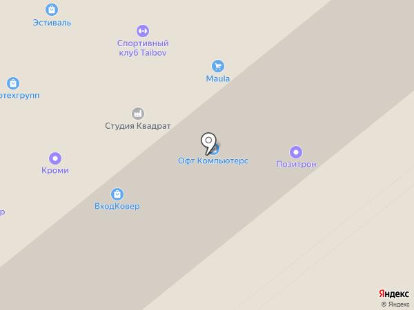 Cap Moto на карте Москвы