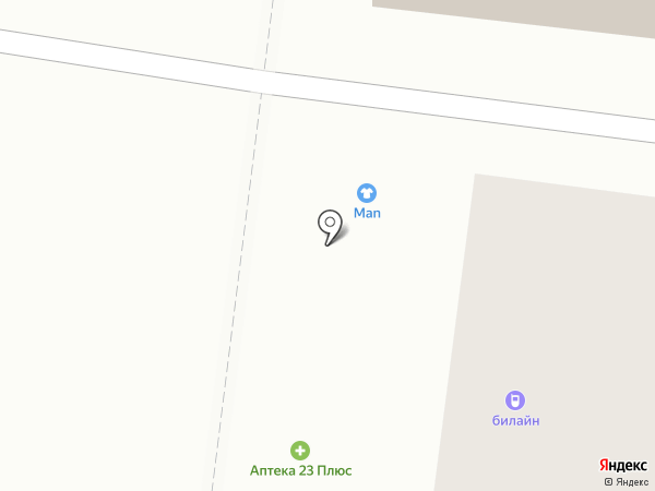 MAN на карте Новороссийска