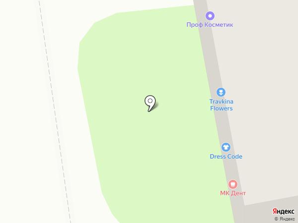 Цветочный магазин на карте Новороссийска