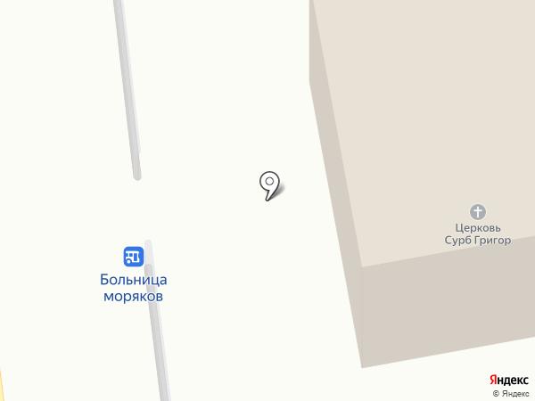 Луйс на карте Новороссийска