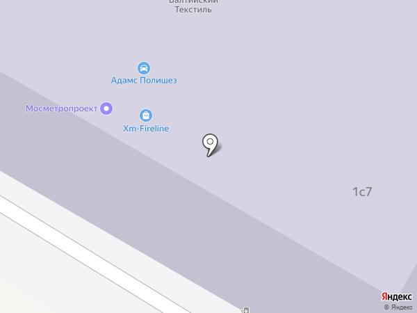 Прабо на карте Москвы