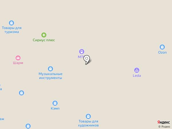 КЭМП на карте Домодедово