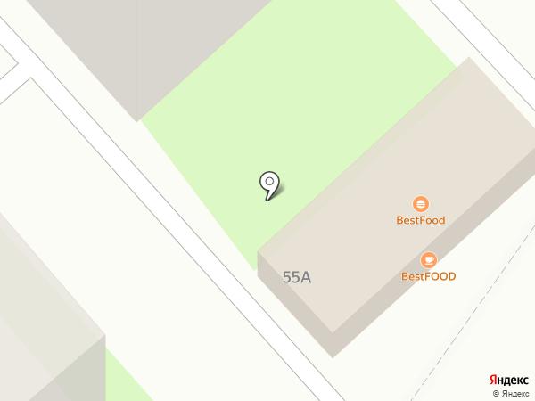 Шашлычный двор на карте Новороссийска