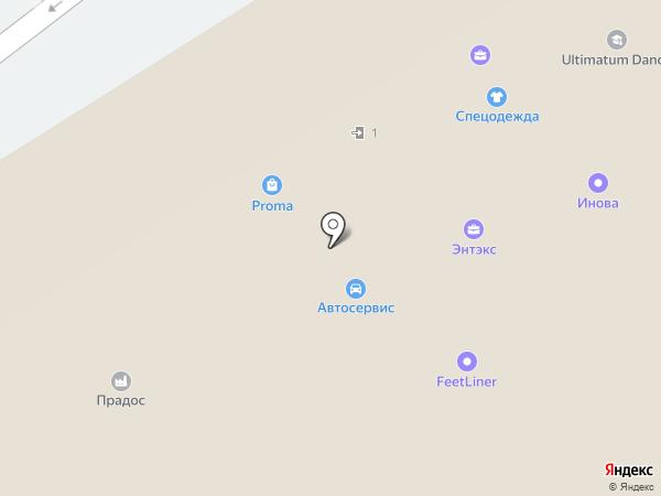 Инжиниринг на карте Москвы