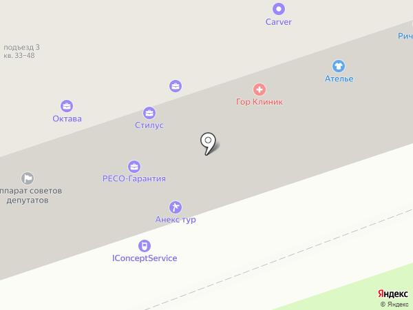 КредитникЪ на карте Москвы