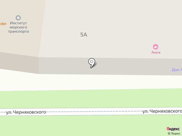 Адамо на карте Новороссийска