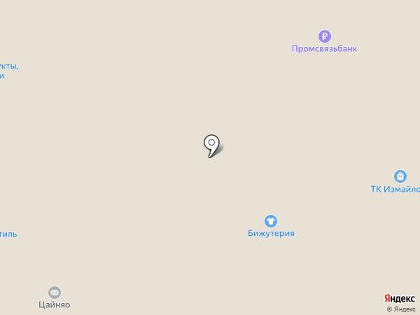Добрынинский на карте Москвы