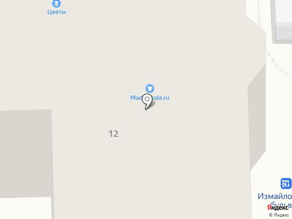 Эконом-строй на карте Москвы