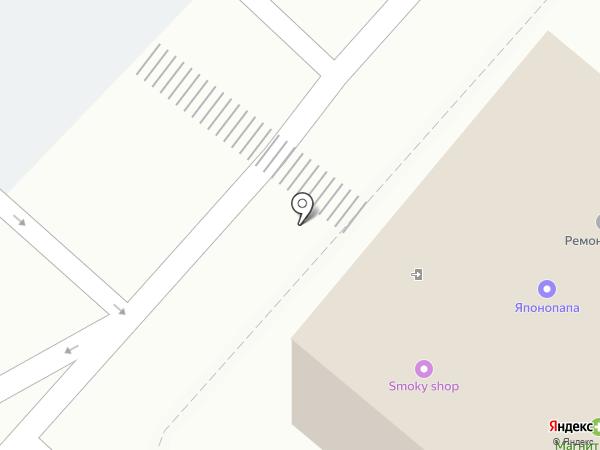 Мастерская по ремонту автостекол на карте Новороссийска