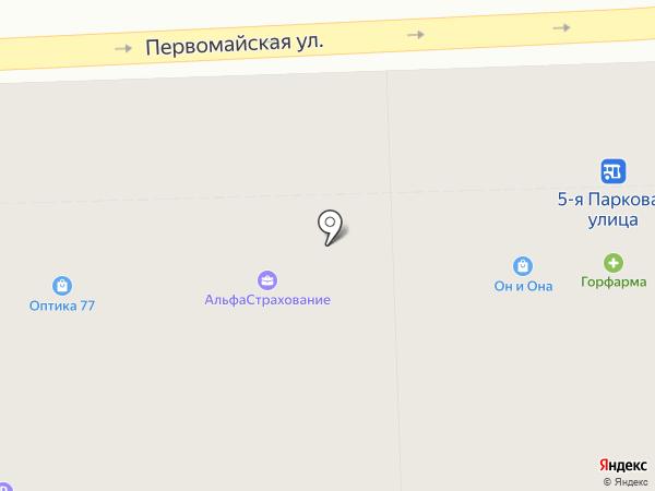 Кондитерская на карте Москвы