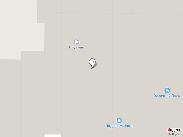 Спутник на карте Мытищ