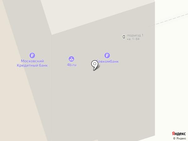 Лэйн-Лайн на карте Москвы
