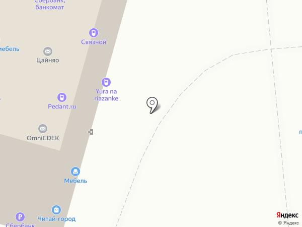 КРАСИВЫЙ ДОМ на карте Москвы