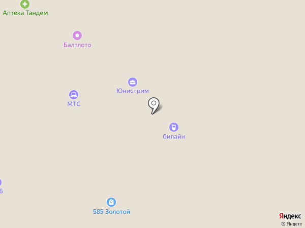 Банкомат, АЛЬФА-БАНК на карте Старого Оскола