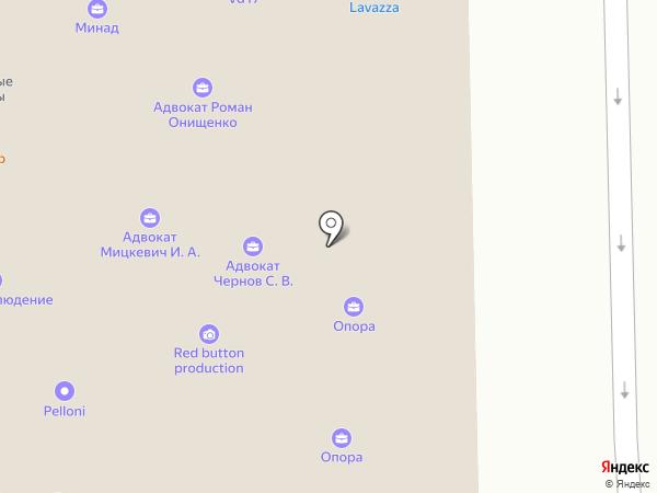 Бухгалтерский Дом на карте Москвы