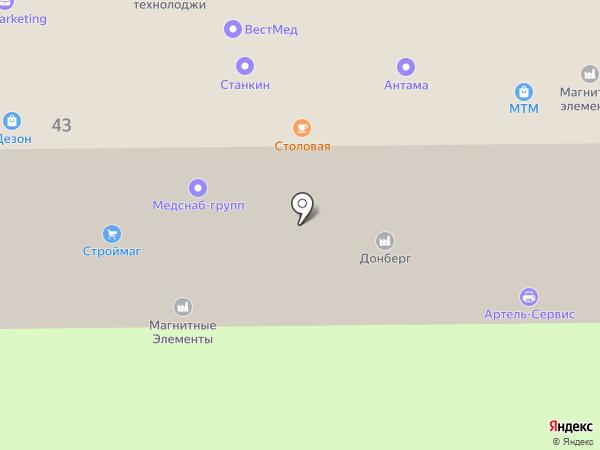 Электронмаш на карте Москвы
