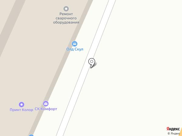 Корпус проект на карте Мытищ