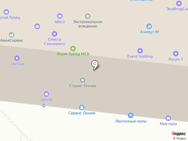Латераль на карте Москвы