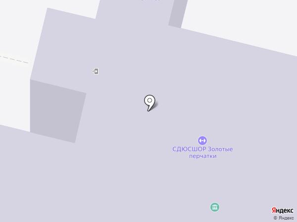 Средняя общеобразовательная школа №19 на карте Старого Оскола
