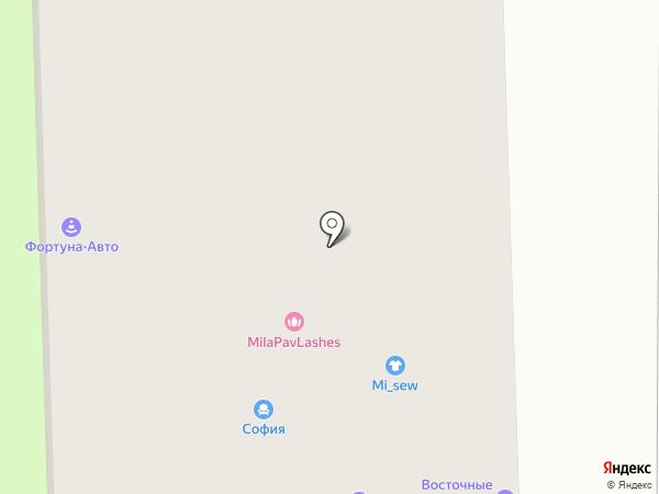 Канатекс на карте Москвы