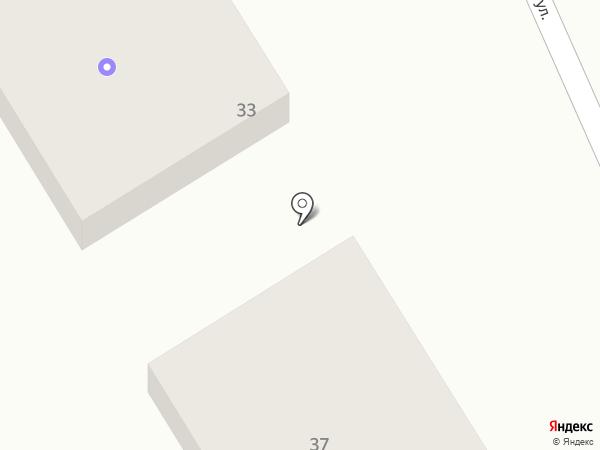 Новатор на карте Новороссийска