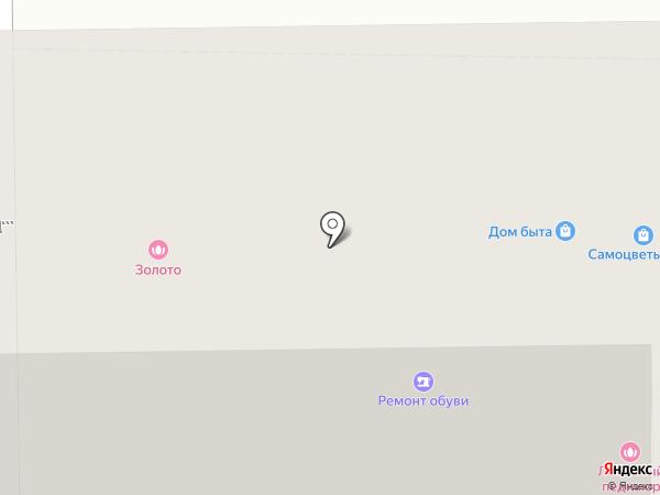 Сирень на карте Москвы