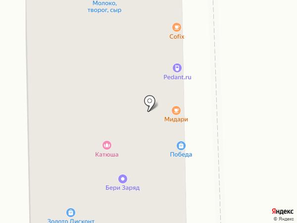 ОПОП Восточного административного округа на карте Москвы