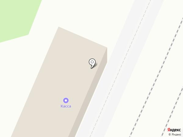 Челюскинская на карте Мытищ