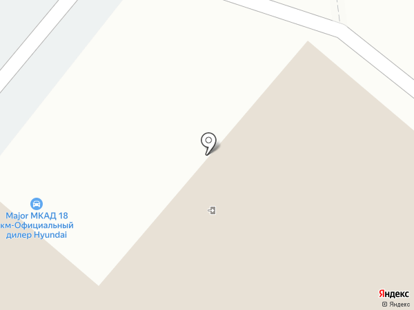 Major Mazda на карте Дзержинского