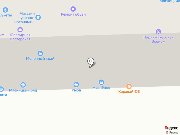 Магазин овощей и фруктов на карте Москвы
