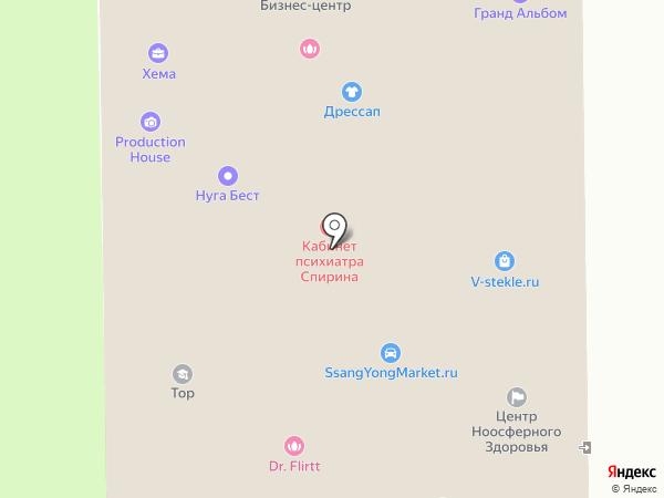 Кабинет врача Вавилова А.В. на карте Москвы