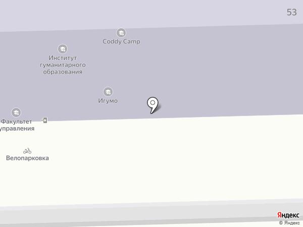 Институт гуманитарного образования и информационных технологий на карте Москвы