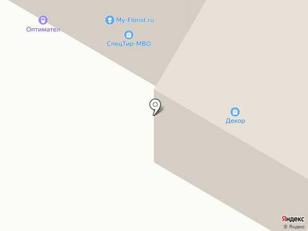 Milhome.ru на карте Москвы