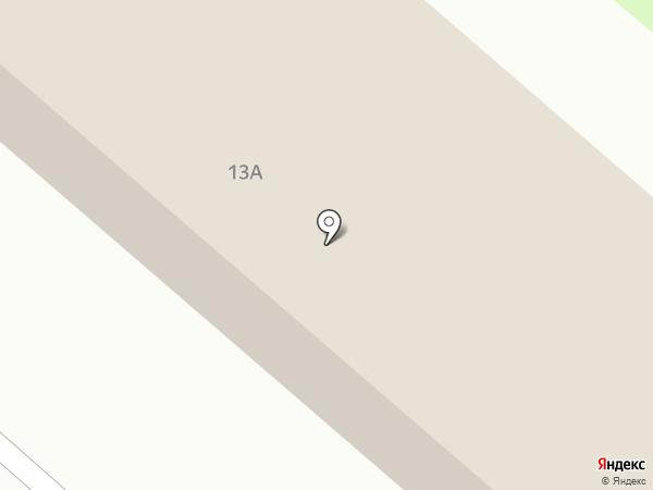 Техносерв на карте Москвы