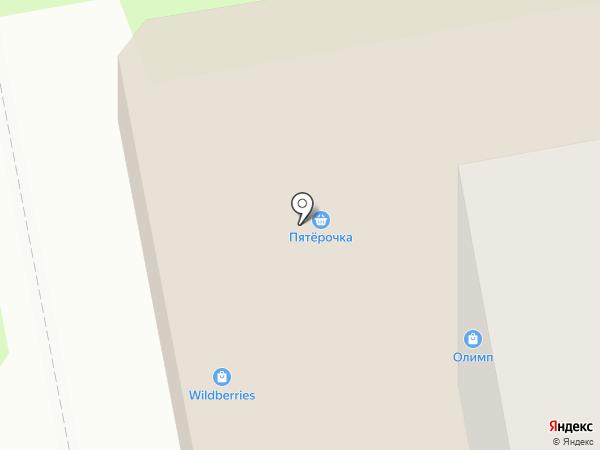 Разгуляй на карте Старого Оскола