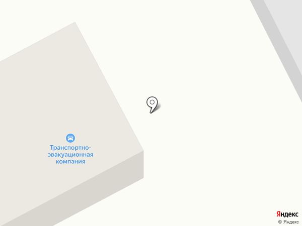Транспортно-эвакуационная компания на карте Старого Оскола
