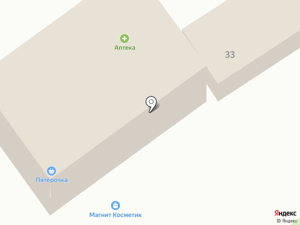 Мясной магазин на карте Пушкино