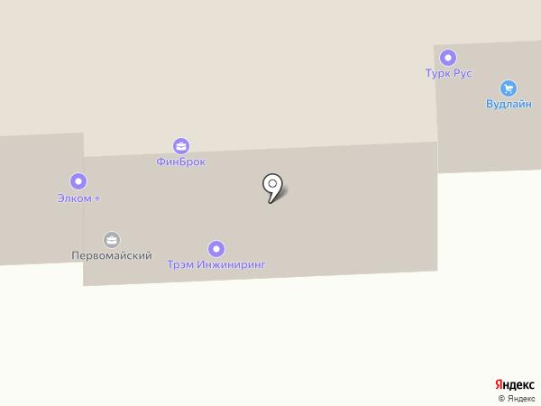 ФинБрок на карте Москвы