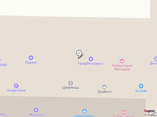 ТРАНКОН на карте Королёва