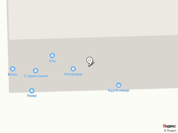 СТУДИЯ КУХНИ в ИЗМАЙЛОВО на карте Москвы