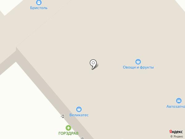 Магазин мясной продукции на карте Пушкино